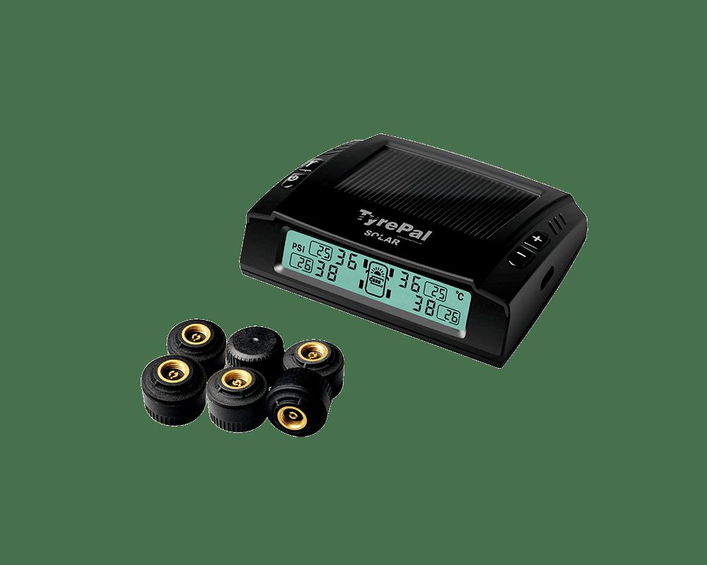 Solar 6 Monitor and Sensors